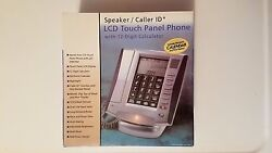 LCD Touch Panel Phone With 12 Digit Calculator And Electronic Calendar (C)