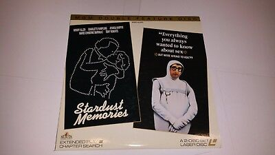 STARDUST MEMORIES / EVERYTHING WANT TO KNOW ABOUT SEX LaserDisc Laser Video Disc