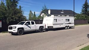 Travel trailer  26 ft west winds by custom koach