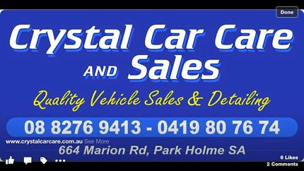 CRYSTAL CAR CARE & SALES