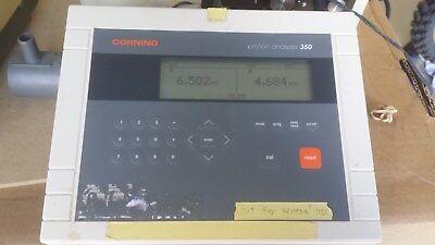 Corning Ph Ion Analyzer Model 350 Meter W Probe