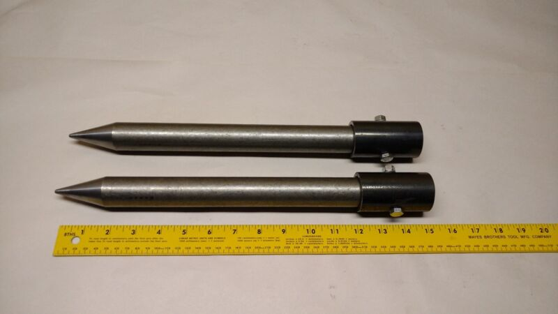 NEW - ROUND BALE STABILIZER SPIKE / SPEAR / MOVER / TINE / WITH MOUNTING SLEEVES