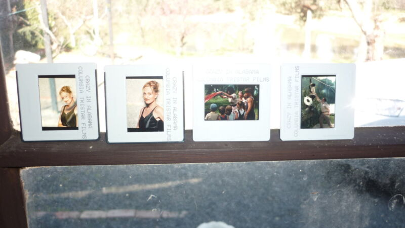 COLLECTION OF 4 ORIGINAL MOVIE FILM CELLS, CRAZY IN ALABAMA, MELANIE GRIFFITH 1
