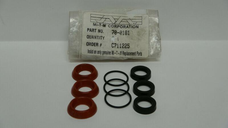Mi-T-M High Pressure Seal Kit 70-0181 700181 Pressure Washer Pump Kit