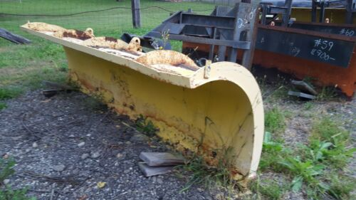 """MONROE 10 FT SNOWPLOW POWER ANGLE 29"""" HUSTING HITCH #58"""