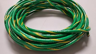 10 Gauge Ground Wire Thhn Wire Green Yellow 50 Feet Thwn-2 600v Copper Stranded