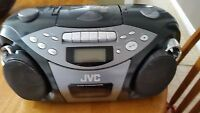 Cd portable system with cassette player