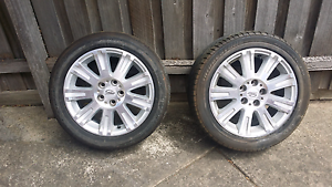 Selling 2 ford Ba fairmont ghia wheels Craigieburn Hume Area Preview