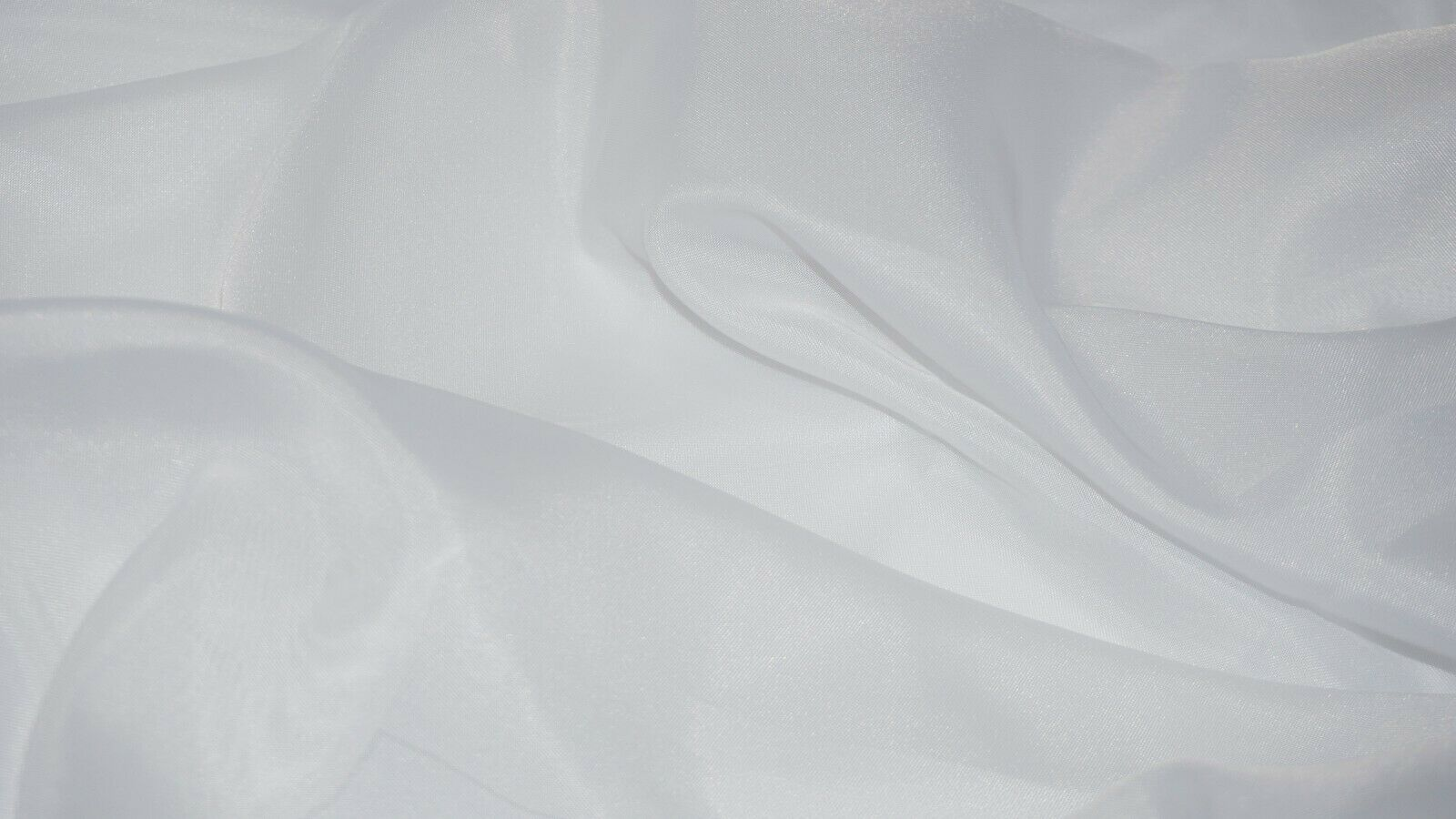 white 280CM extra wide Organza Satin Voile Curtain fabric dress Wedding fabric