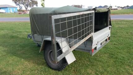 Trailer - 7x5 Heavy Duty with Cage & Canopy Albany 6330 Albany Area Preview