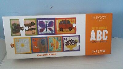 Kid's World ABC Floor Puzzle 11 Foot Crocodile Creek New