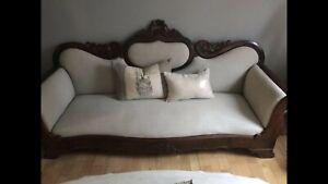Antique Victorian Setee / Sofa