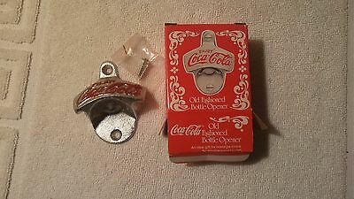 NEW Old Fashioned Cast Iron COCA COLA Wall Mount Bottle Opener Vintage Style