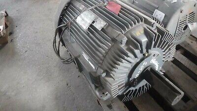 100 Hp Siemens-allis Ac Electric Motor 900 Rpm Fr 445t Tefcbb 460 V Eok