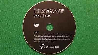 2018 Mercedes-Benz DVD Comand Aps Europa NTG2 A/B/C/CLK/G....Klasse LAST ACTUAL