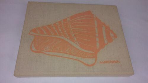 "Vintage / Retro Marushka Art - Shell - Framed Canvas - 10 x 8"""