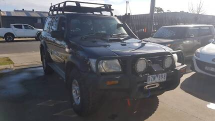 """2002 Nissan Patrol ST SUV 4X4 TURBO DIESEL """"EXTRAS"""" Williamstown North Hobsons Bay Area Preview"""