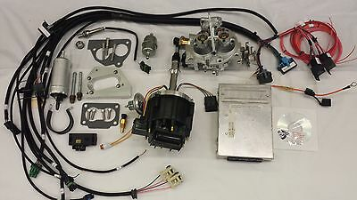 Jeep Fuel Injection Kit for 4.2L 258 CI Complete TBI Fuel EFI Conversion Kit