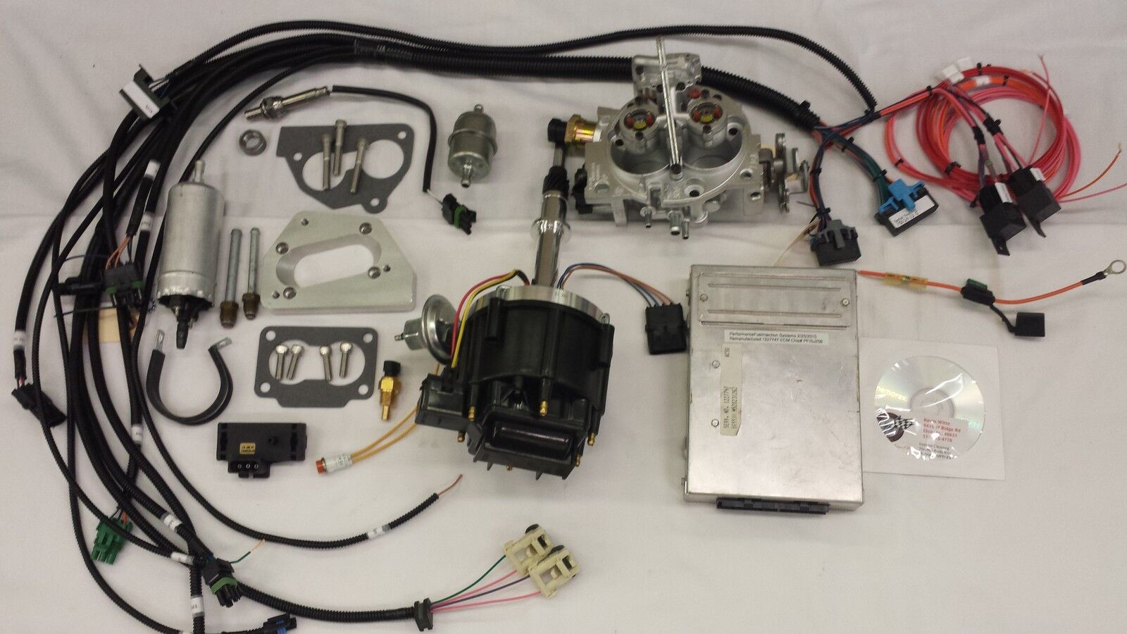jeep fuel injection kit for 4 2l 258 ci complete tbi fuel efi you re almost done