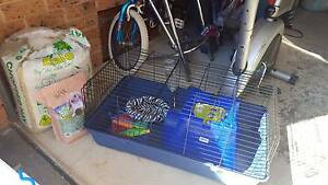 Rabbit Cage with all the supplies only used for 3 weeks near new Connells Point Kogarah Area Preview