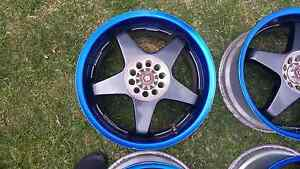 """Genuine set Sparco Crimsons 16"""" 5x100 jdm wheels rims Castle Hill The Hills District Preview"""