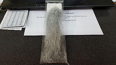 Angel Hair Original Larva Lace U.S.A Angel Hair BLACK CHARTREUSE