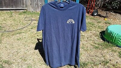 Authentic Blue BRUGAL RUM Dominican Republic T-Shirt Size XL FREE SHIPPING