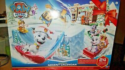 Nickelodeon Paw Patrol Advent Calendar Figurines 24 Pieces - New & Sealed