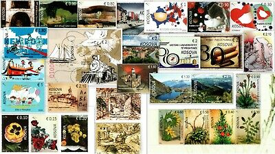 Kosovo Stamps 2020. Complete year all issues. Set and Souvenir sheet. MNH