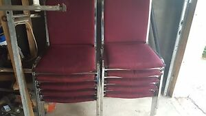 Great chairs 15 each or take all 10 for 100