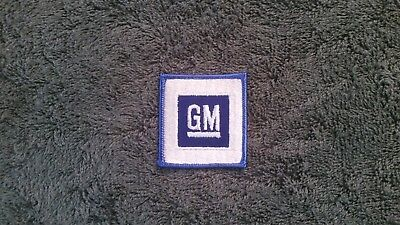 Vintage Gm General Motors Patch  Racing  Collectible Patch Nos