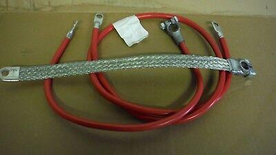 Farmall M Mv Super M Mta Battery Cable Set. 3 Cables. 2 Gauge See Details