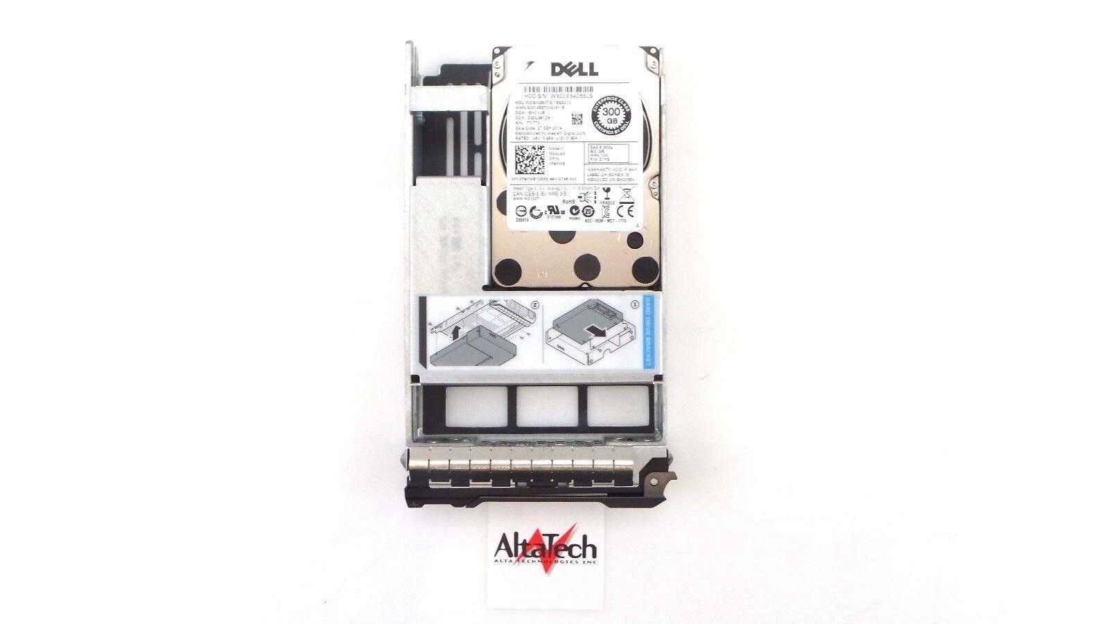 "F9KW8 DELL 300GB 10K 6G SAS 2.5/"" HDD 0F9KW8 WD3002BKTG"