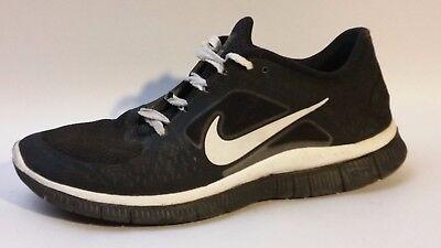 b99b9b2db3fa NIKE Mesh Free Run iD Shoes Mens 9.5 M 526805-992 Black White Running  Sneakers