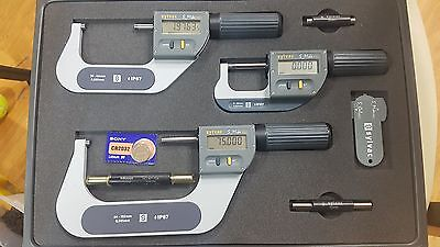 Sylvac Digimatic Micrometers Set 0-102mm0.001mm Ip67
