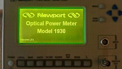 Newport Optical Power Meter Model 1930c