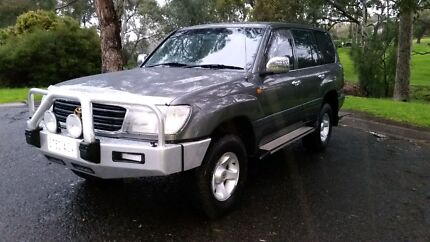 Toyota Landcruiser auto air steer duel fuel  Newton Campbelltown Area Preview