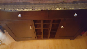 Wooden wIne Cabinet/Rack Cabramatta West Fairfield Area Preview