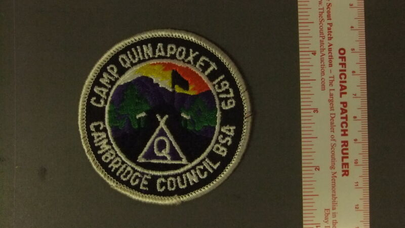 Boy Scout Camp Quinapoxet Cambridge Council 3548II