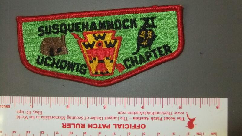 Boy Scout OA 11 Susquehannock chapter flap 3035II