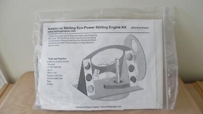 AMERICAN STIRLING ECO~POWER STIRLING ENGINE KIT~BRAND NEW~SEALED