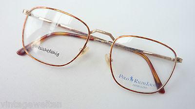 Ralph Lauren Vintagebrille Designer Brille groß kastige Glasform Herren Grösse M