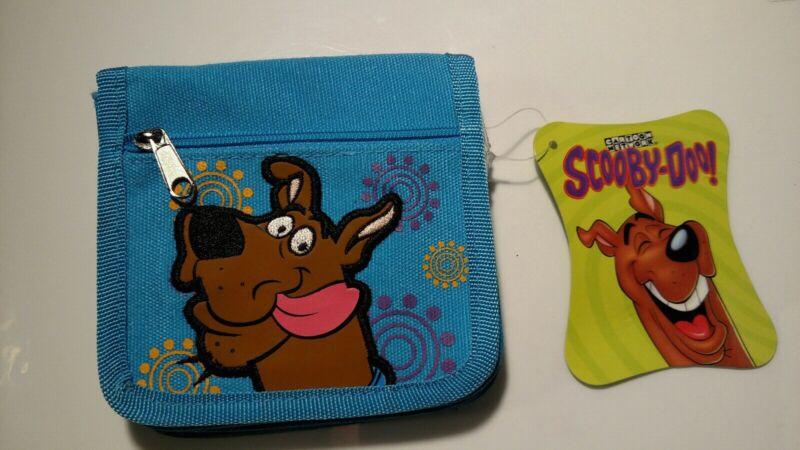 Scooby-Doo Blue Vinyl Kids Wallet/Purse *New*