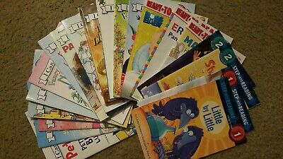 Lot Of 20 I Can Read - Step Into Reading- Ready To Read- Level 1, 2 Books Set