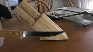 NEW 6 peice steak knife kit