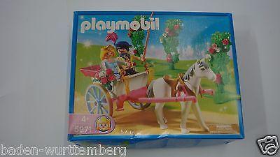 Playmobil 5871 Princess w/horse carriage mint in Box Fairy Magical wagon GARAGE (Princess Carriage Wagon)