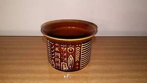Vintage Portmeirion Brown Sugar bowl Cypher Golden Grove Tea Tree Gully Area Preview