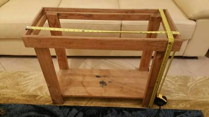 2.5 Foot Pine Fish Tank Aquarium Stands No Hood Prestons Liverpool Area Preview
