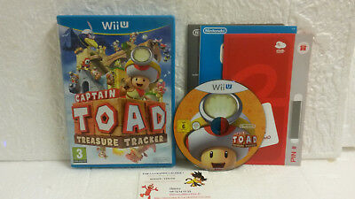 Jeu Vidéo Captain TOAD Treasure Tracker VF Wii U Complet Plateforme WiiU Amusant