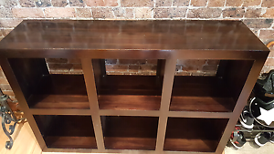 Solid wood bookshelf in good condition Enmore Marrickville Area Preview